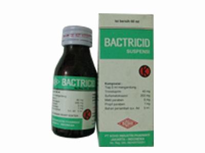 BACTRICID SIRUP 60 ML