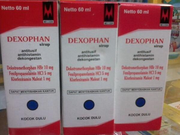 DEXOPHAN SIRUP 60 ML