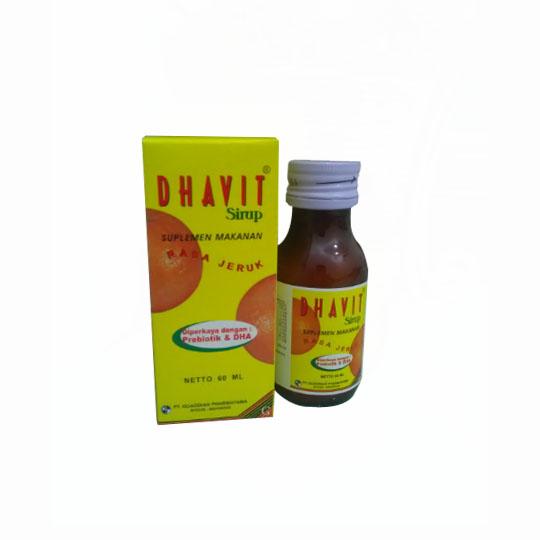 DHAVIT SIRUP 60 ML