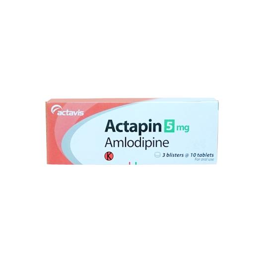 ACTAPIN 5 MG 10 TABLET