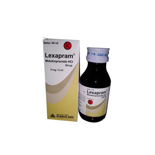 LEXAPRAM SIRUP 60 ML