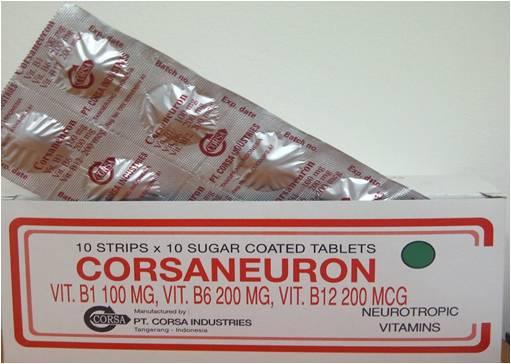 CORSANEURON 10 TABLET