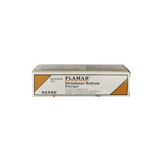 FLAMAR 10 MG/G GEL 20 G