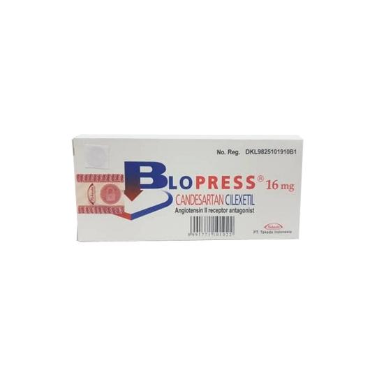 BLOPRESS 16 MG 7 TABLET