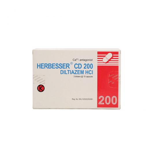 HERBESSER CD 200 KAPSUL