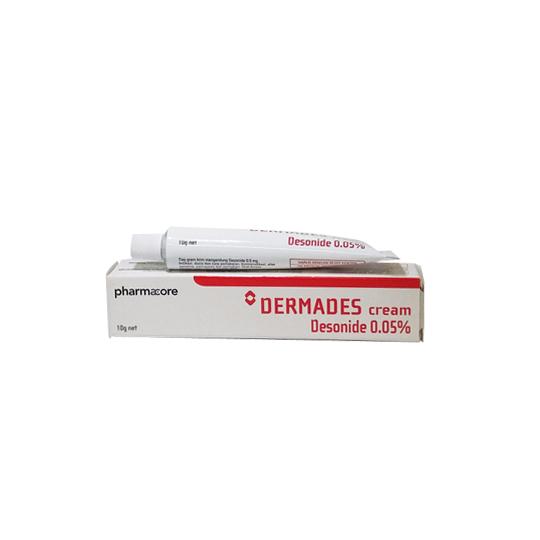DERMADES 0.5 MG/G SALEP 10 G