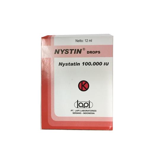 NYSTIN DROPS 12 ML