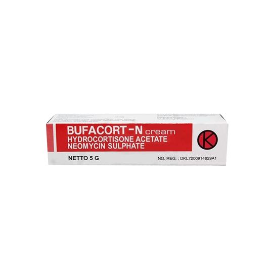 BUFACORT-N 0.5% CREAM 5 G