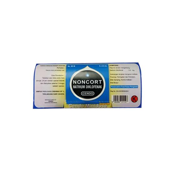 CENDO NONCORT MINIDOSE 0.6 ML 5'S