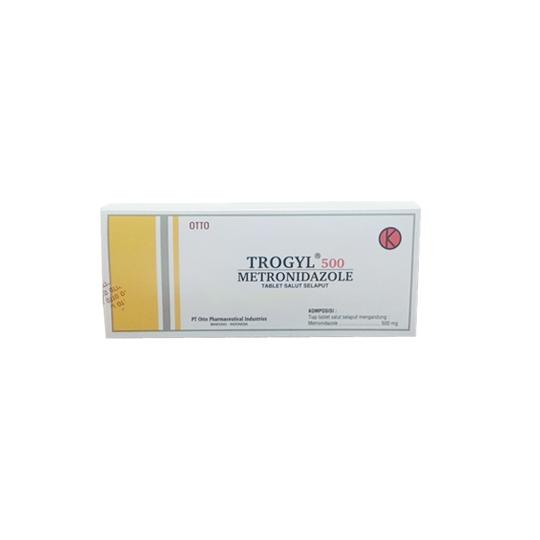TROGYL 500 MG 10 TABLET