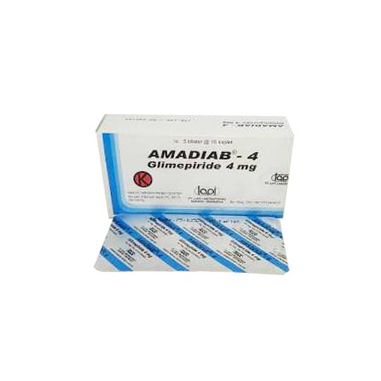 AMADIAB 4 MG 10 KAPLET