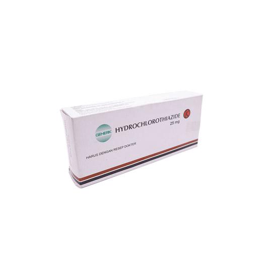 HYDROCHLOROTHIAZIDE (HCT) 25 MG 10 TABLET