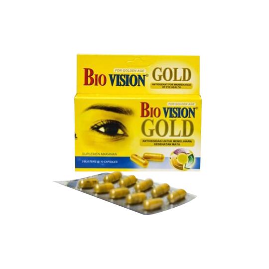 BIOVISION GOLD 10 KAPSUL