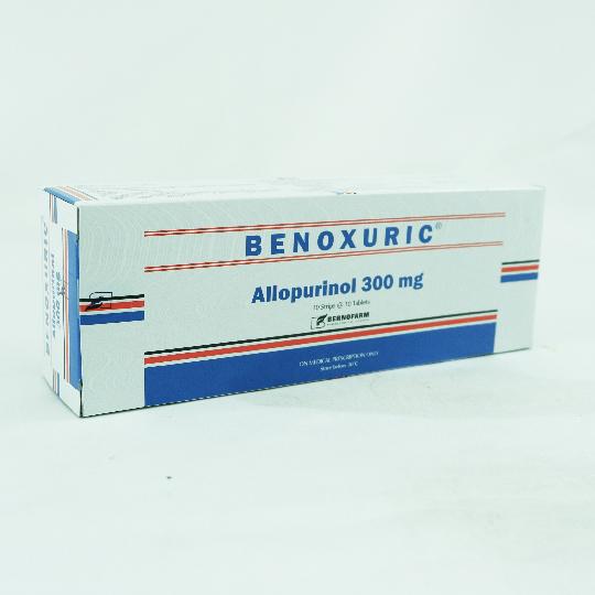 BENOXURIC 300 MG 10 TABLET