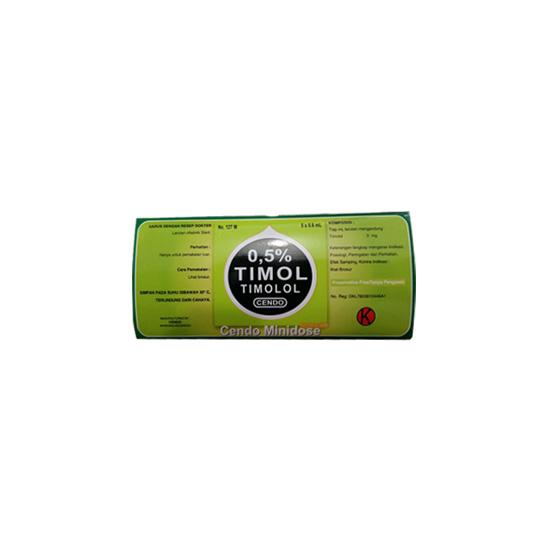 CENDO TIMOLOL 0.5% MINIDOSE 5'S