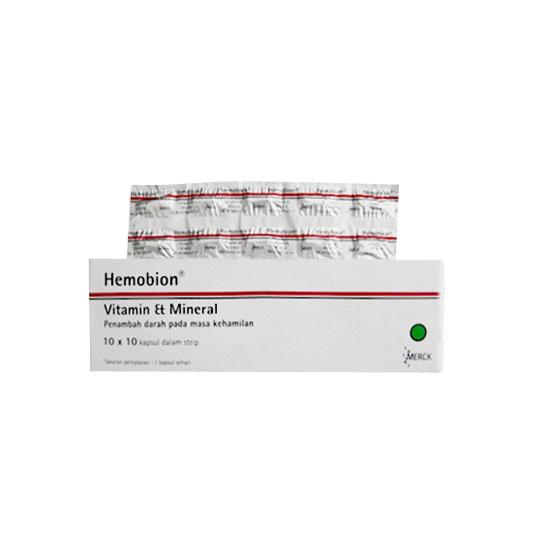 HEMOBION 10 KAPSUL