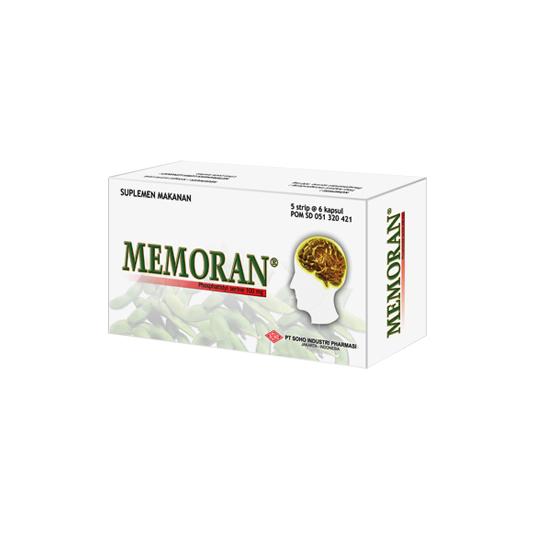 MEMORAN 100 MG 6 KAPSUL