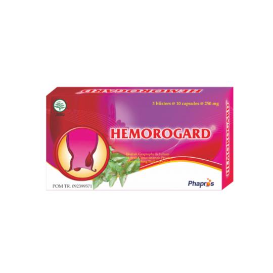HEMOROGARD 10 KAPSUL