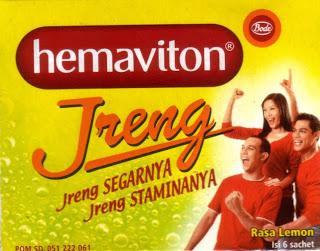 HEMAVITON JRENG RASA LEMON GRANUL 4 G