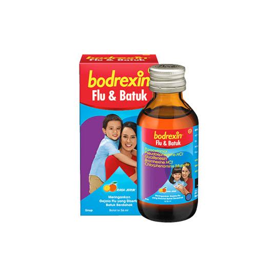 BODREXIN FLU DAN BATUK SIRUP RASA JERUK 56 ML