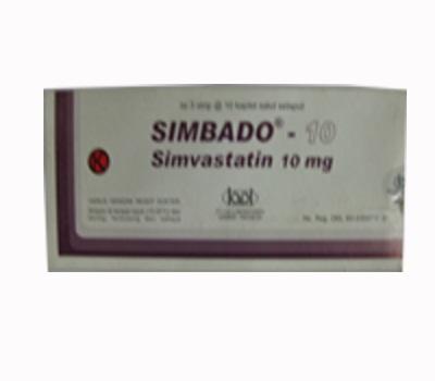 SIMBADO 10 MG 10 TABLET