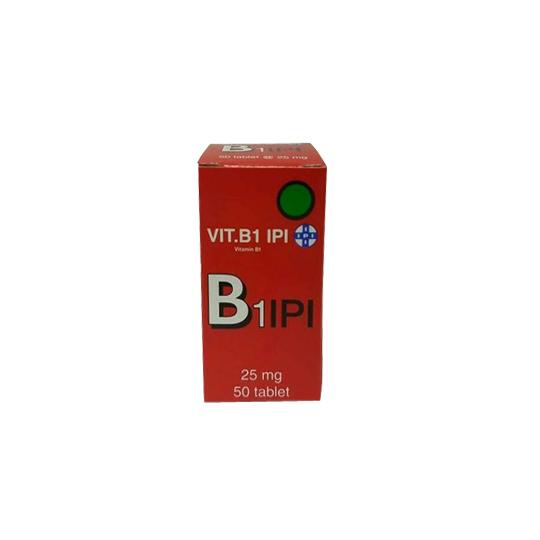 VITAMIN B1 IPI 25 MG 50 TABLET