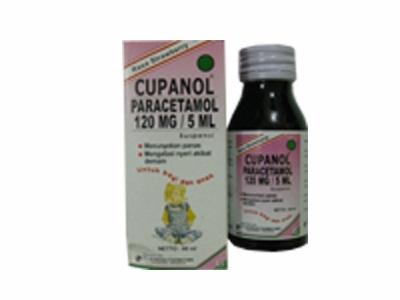 CUPANOL SIRUP 60 ML