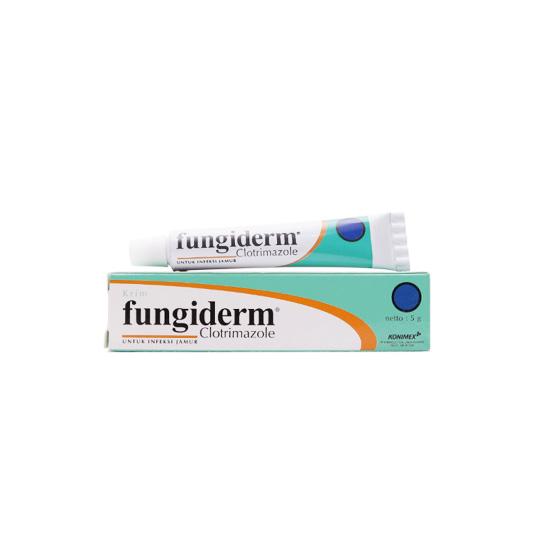 FUNGIDERM 1% CREAM 5 G