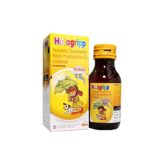 HUFAGRIP FLU & BATUK SIRUP 60 ML