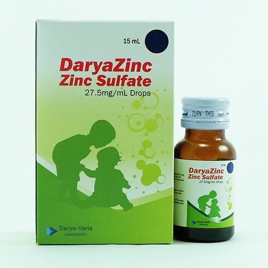 DARYAZINC DROPS 15 ML
